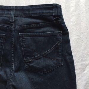 NYDJ Straight Leg Denim Jeans Lift Tuck Size 4P